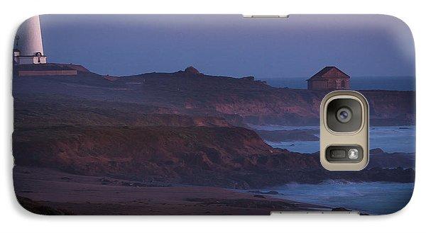 Fog Forming Over Piedras Blancas....  San Simeon Galaxy S7 Case