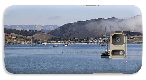 Galaxy Case featuring the photograph Fog Hovering Over San Luis Obispo Bay by Jan Cipolla