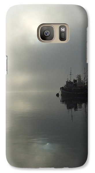 Galaxy Case featuring the photograph Fog by Mark Alan Perry