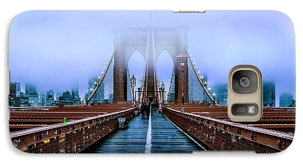 Featured Images Galaxy S7 Case - Fog Over The Brooklyn by Az Jackson