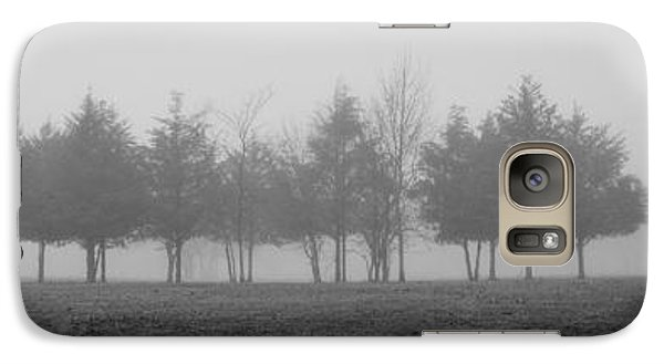 Galaxy Case featuring the photograph Foggy Day by Cheryl McClure