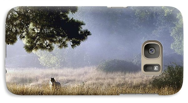 Galaxy Case featuring the photograph Foggy Grotto by Julia Hassett