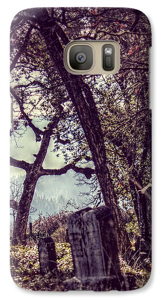 Galaxy Case featuring the photograph Foggy Memories by Melanie Lankford Photography