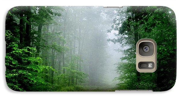 Galaxy Case featuring the photograph Foggy Morning by Debra Fedchin