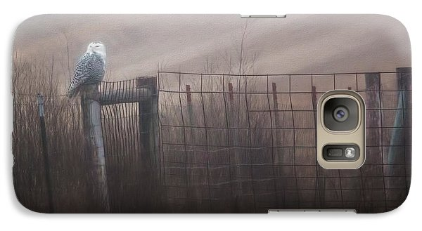 Galaxy Case featuring the photograph Foggy Morning  by Kelly Marquardt