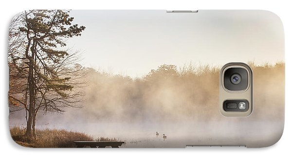 Galaxy Case featuring the photograph Foggy Morning by Yelena Rozov
