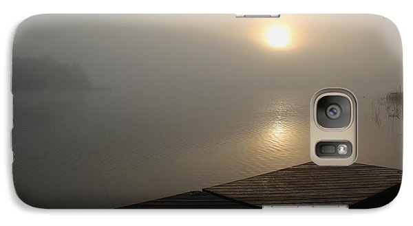 Galaxy Case featuring the photograph Foggy Sunrise by Debbie Oppermann