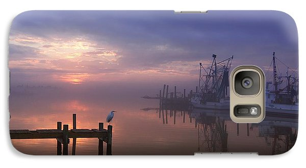 Foggy Sunset Over Swansboro Galaxy S7 Case