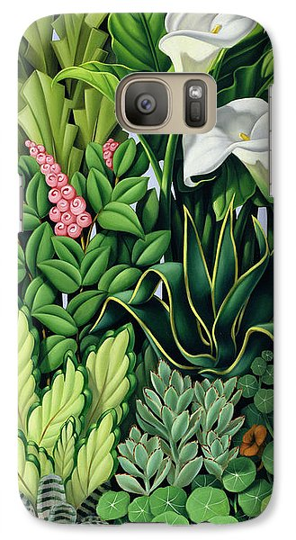 Garden Galaxy S7 Case - Foliage by Catherine Abel