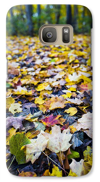 Galaxy Case featuring the photograph Foliage by Sebastian Musial