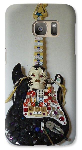 Galaxy Case featuring the sculpture M.t.b. Art Guitar by Douglas Fromm