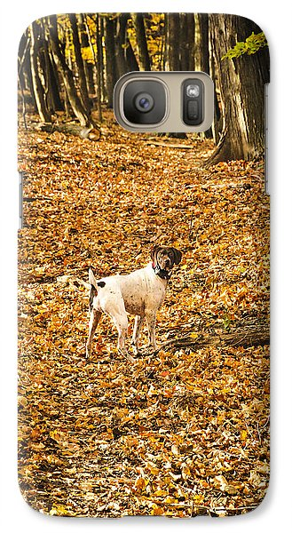 Galaxy Case featuring the photograph Follow Me by Phil Abrams