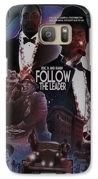 Galaxy Case featuring the drawing Follow The Leader 2 by Nelson Dedos Garcia