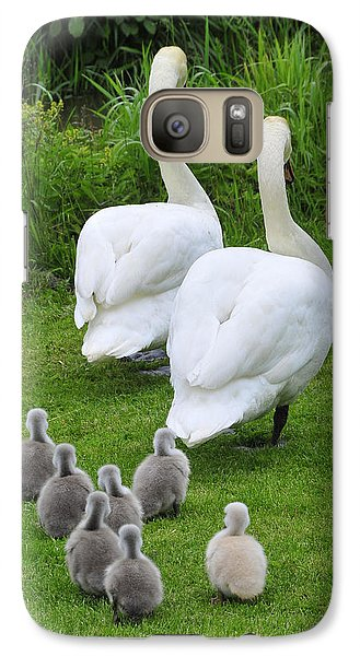 Galaxy Case featuring the photograph Follow The Leader by Dan Myers