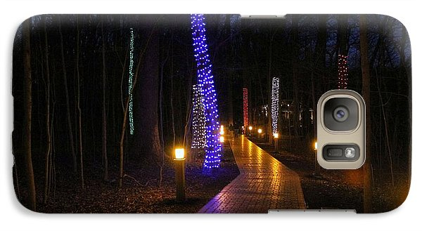 Galaxy Case featuring the photograph Follow The Yellow Brick Road by Robert McCubbin