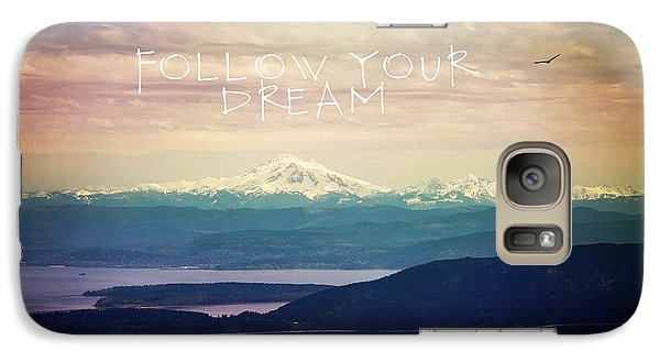 Galaxy Case featuring the photograph Follow Your Dream by Sylvia Cook