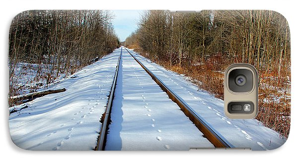 Galaxy Case featuring the photograph Follow Your Own Path by Debbie Oppermann