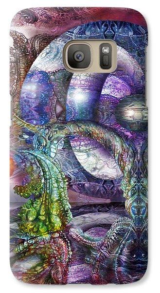 Galaxy Case featuring the digital art Fomorii Universe by Otto Rapp