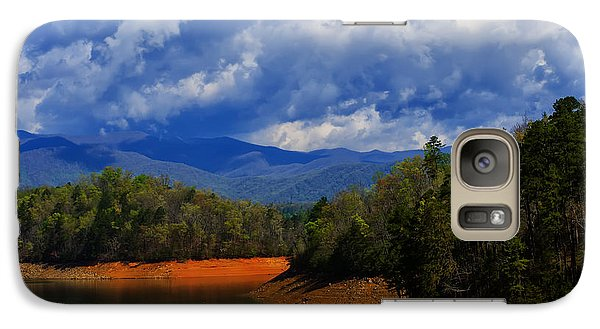 Fontana Lake Storm Galaxy S7 Case