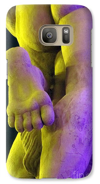 Galaxy Case featuring the photograph Foot My Friend by Yury Bashkin