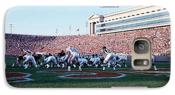 Football Game, Soldier Field, Chicago Galaxy Case by Panoramic Images