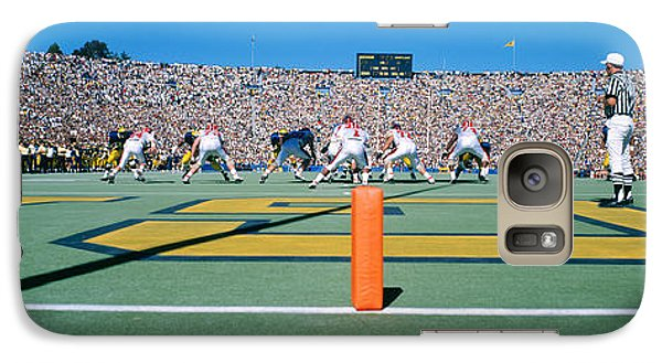 Football Game, University Of Michigan Galaxy S7 Case by Panoramic Images
