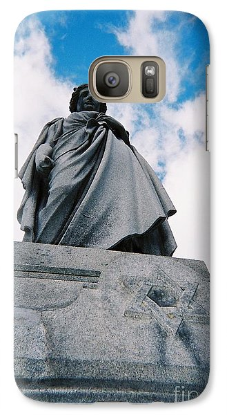 Galaxy Case featuring the photograph For Israel Tikkun by Peter Gumaer Ogden
