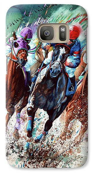 Horse Galaxy S7 Case - For The Roses by Hanne Lore Koehler