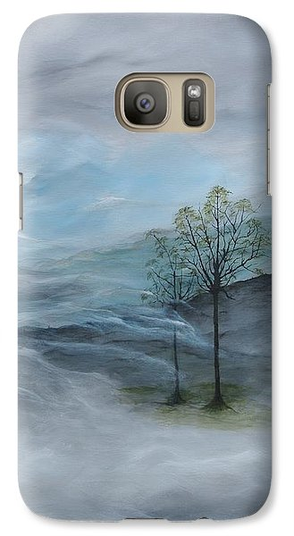 Galaxy Case featuring the painting For You Son by Tamara Bettencourt