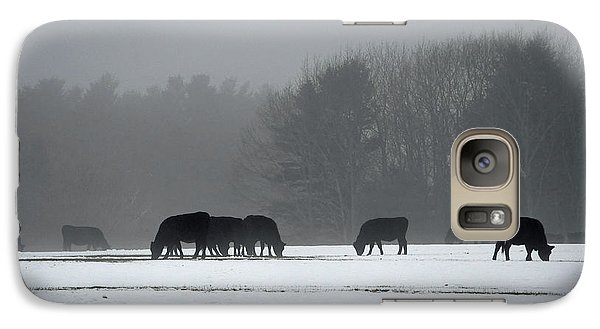 Galaxy Case featuring the photograph Foraging by Glenn Gordon