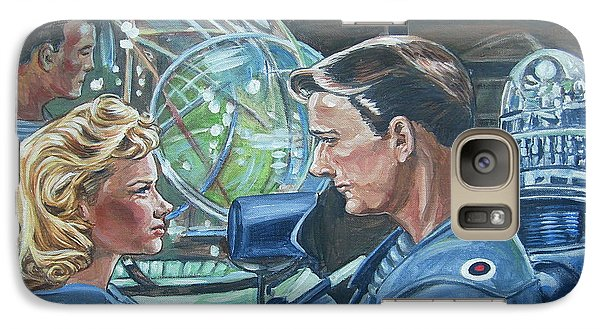 Galaxy Case featuring the painting Forbidden Planet by Bryan Bustard