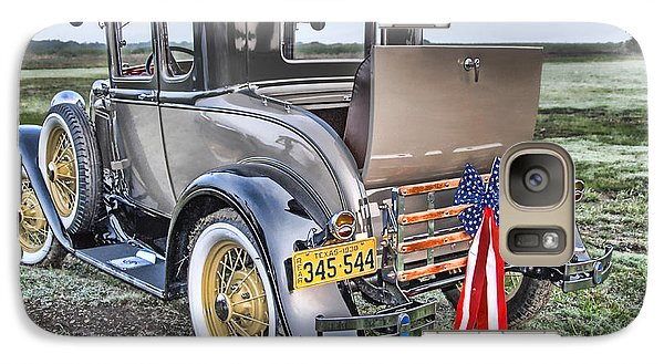 Galaxy Case featuring the photograph Ford Classic by Dyle   Warren
