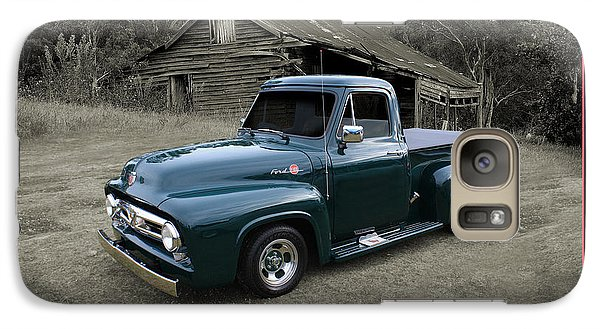 Galaxy Case featuring the photograph Ford F100 by Keith Hawley
