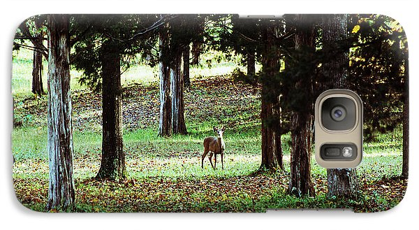 Galaxy Case featuring the digital art Forest Buck by Lorna Rogers Photography