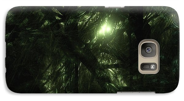 Galaxy Case featuring the digital art Forest Light by GJ Blackman