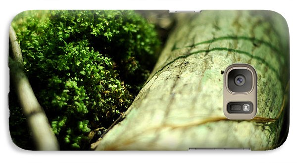 Galaxy Case featuring the photograph Forest Love by Rebecca Sherman
