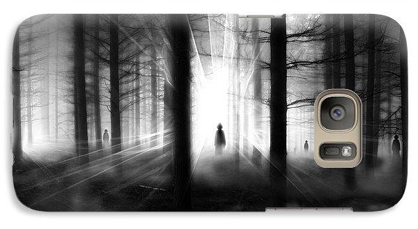 Galaxy Case featuring the photograph Forest... by Mariusz Zawadzki