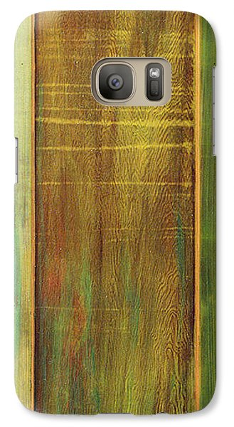 Galaxy Case featuring the sculpture Forest Painted Door by Asha Carolyn Young