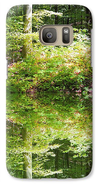 Galaxy Case featuring the photograph Forest Reflections by John Stuart Webbstock