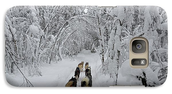 Galaxy Case featuring the photograph Forest Tour by Arik Baltinester