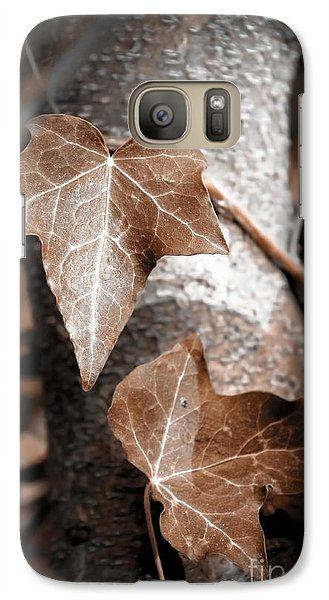 Galaxy Case featuring the photograph Forever Entwined by Ellen Cotton