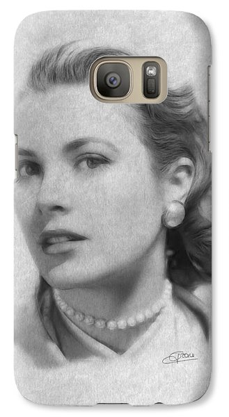 Forever In Our Hearts Galaxy Case by Steve K