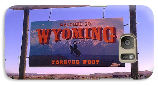 Galaxy Case featuring the photograph Forever West by Chris Tarpening