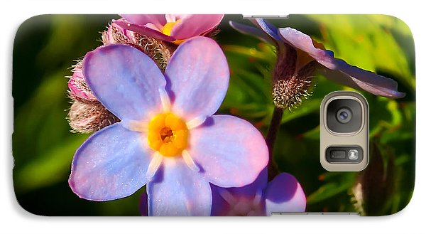 Forget-me-knots Galaxy S7 Case