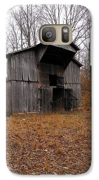 Galaxy Case featuring the photograph Forgotten Barn by Nick Kirby
