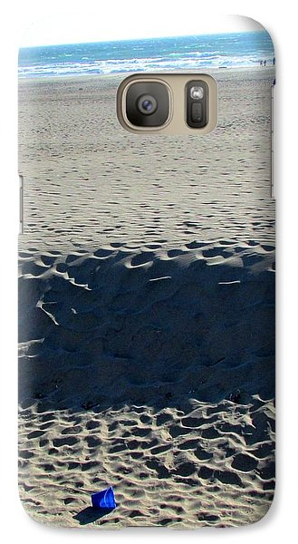 Galaxy Case featuring the photograph Forgotten by Brenda Pressnall