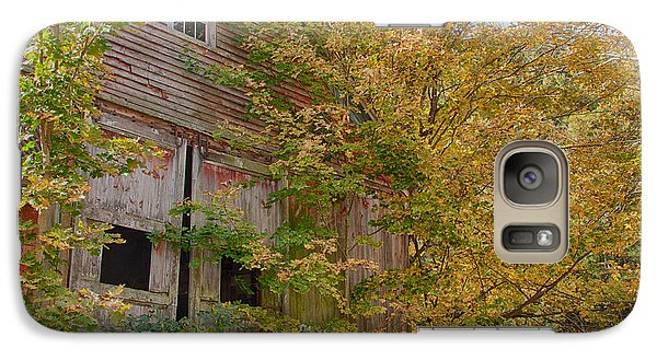 Galaxy Case featuring the photograph Forgotten But Not Gone by Jeff Folger