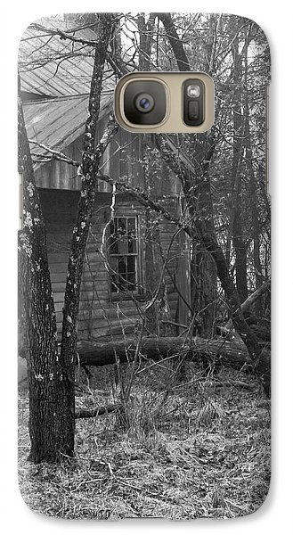 Galaxy Case featuring the photograph Forgotten Places by Laura DAddona