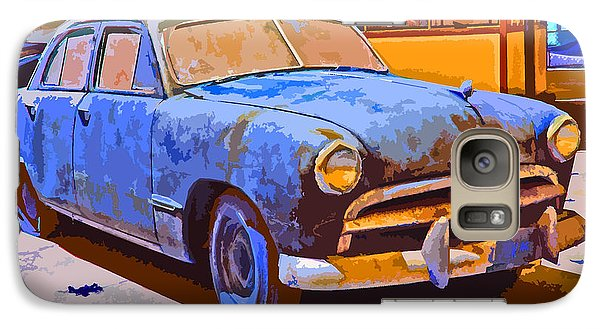Galaxy Case featuring the photograph Forlorn 1949 Ford  by Samuel Sheats