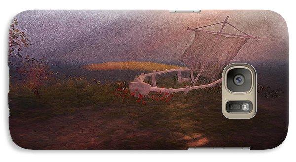 Galaxy Case featuring the digital art Forlorn by Kylie Sabra
